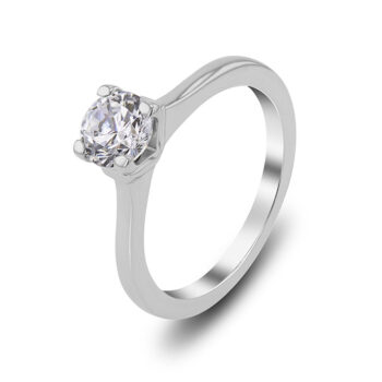 18 carats diamond solitaire ring