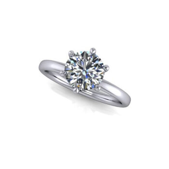 Δαχτυλίδι Αρραβώνα με διαμάντια Κ18 Καρατίων - Ketsetzoglou.com