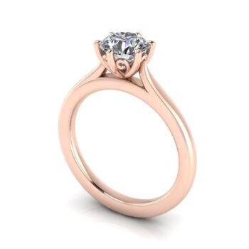 Δαχτυλίδι Αρραβώνα με διαμάντια - Μονόπετρο Κετσετζόγλου