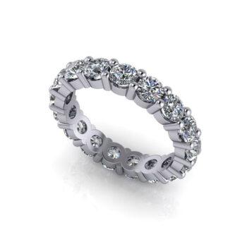 Δαχτυλίδι Αρραβώνα με διαμάντια - Monopetro Ketsetzoglou