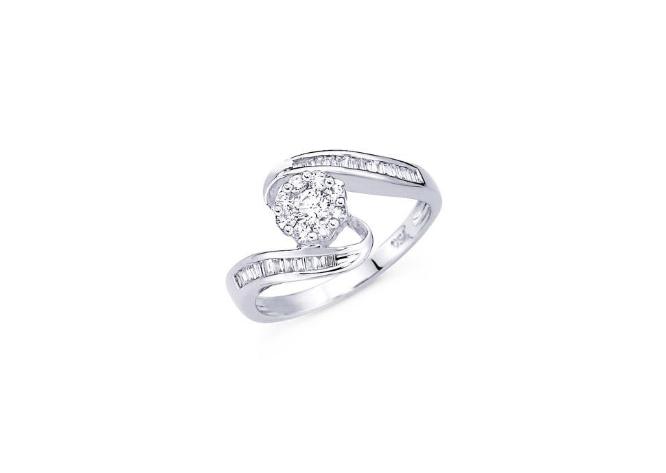 Δαχτυλίδι αρραβώνων Cartier - Monopetro 9a76fe8073a