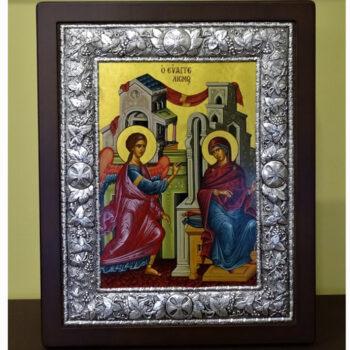 Ασημένια Εικόνα Ευαγγελισμός