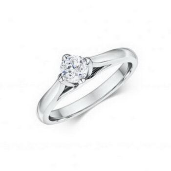 Μονόπετρο δαχτυλίδι με κομψότητα