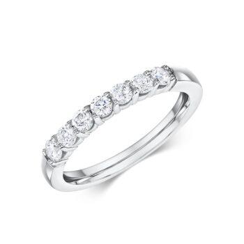 Μισόβερο δαχτυλίδι με μπριγιάν
