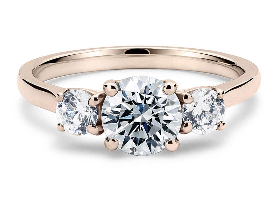 Μονόπετρο δαχτυλίδι με ρομαντική αίσθηση f713e1f865f