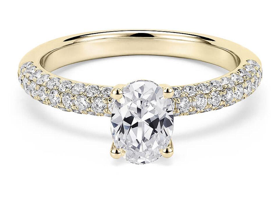 Μονόπετρο δαχτυλίδι με οβάλ διαμάντι. Home   Μονόπετρο δαχτυλίδι με οβάλ  διαμάντι 34e2df8f3b6