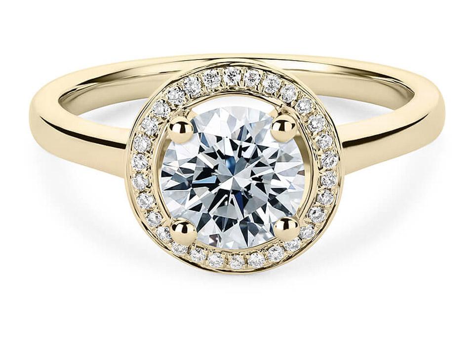 Elegant μονόπετρο δαχτυλίδι με διαμάντια 9c89944cf45
