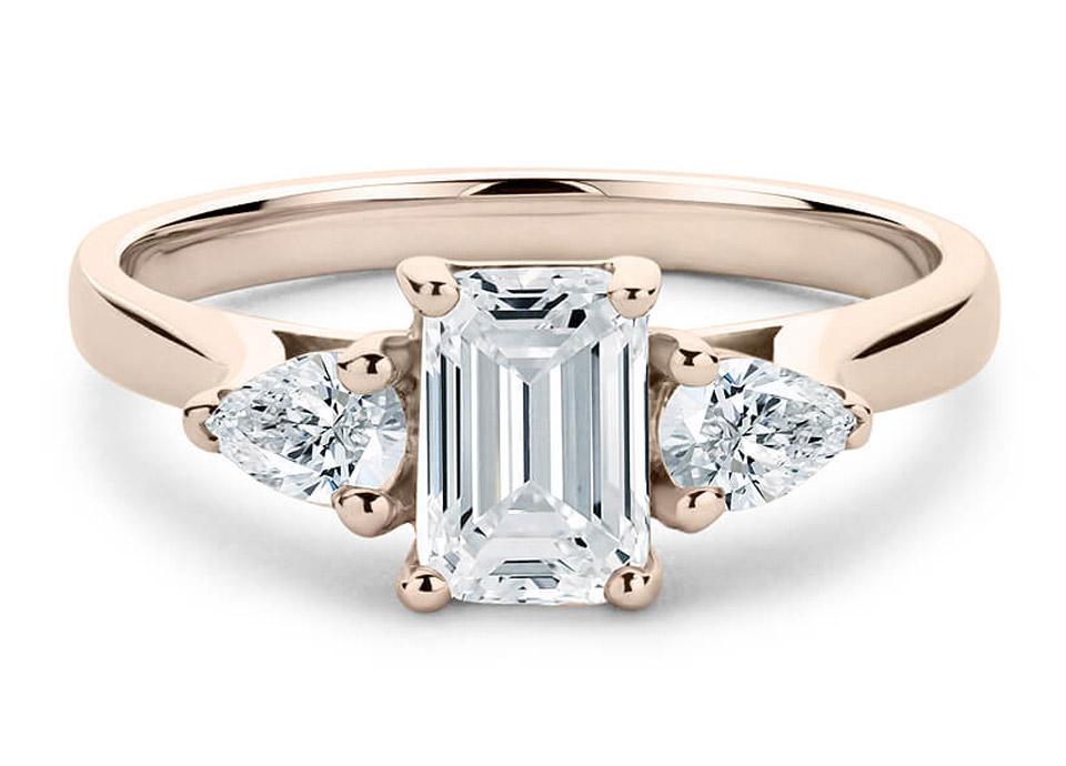 κομψό μονόπετρο δαχτυλίδι σε ροζ χρυσό 05f03d50960