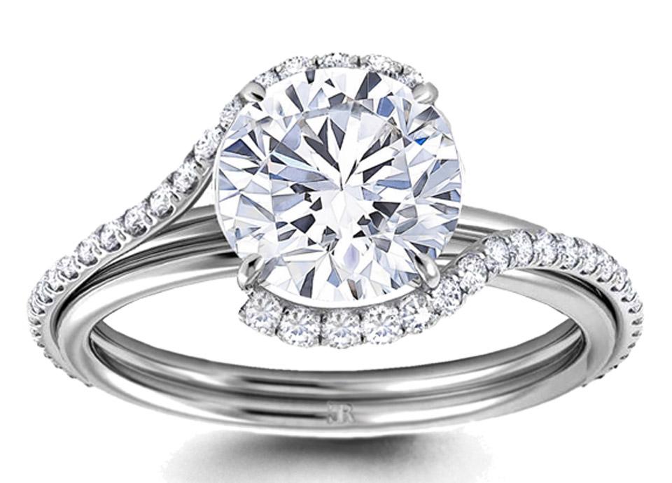 Μονόπετρο δαχτυλίδι λευκόχρυσο με μπριγιάν. Home   Μονόπετρο δαχτυλίδι  λευκόχρυσο με μπριγιάν 75e781afee7