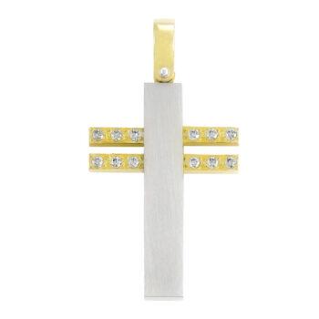 Δίχρωμοι σταυροί με ζιργκόν