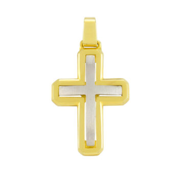 Δίχρωμος σταυρός μασίφ