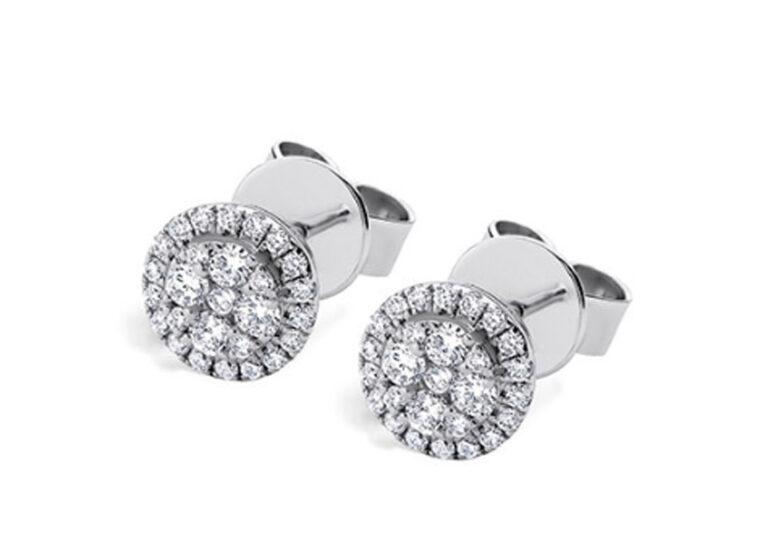 Διαμαντένια σκουλαρίκια