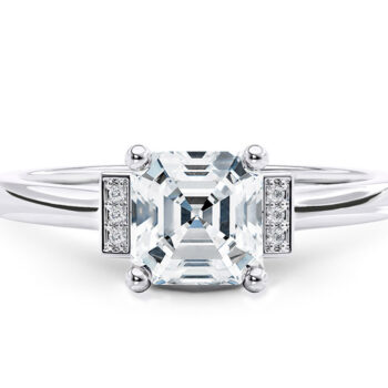 Λευκόχρυσο μονόπετρο δαχτυλίδι μπριγιάν για πρόταση - Ketsetzoglou.gr