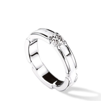 Μονόπετρο μπριγιάν δαχτυλίδι 18κ