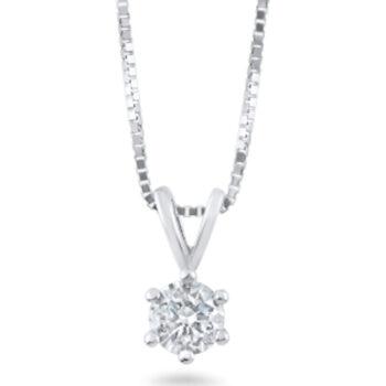 Μενταγιόν με διαμάντι