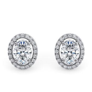 Κομψά και εντυπωσιακά σκουλαρίκια με διαμάντια