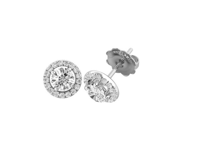 Σκουλαρίκια με διαμάντια απαράμιλλης αισθητικής